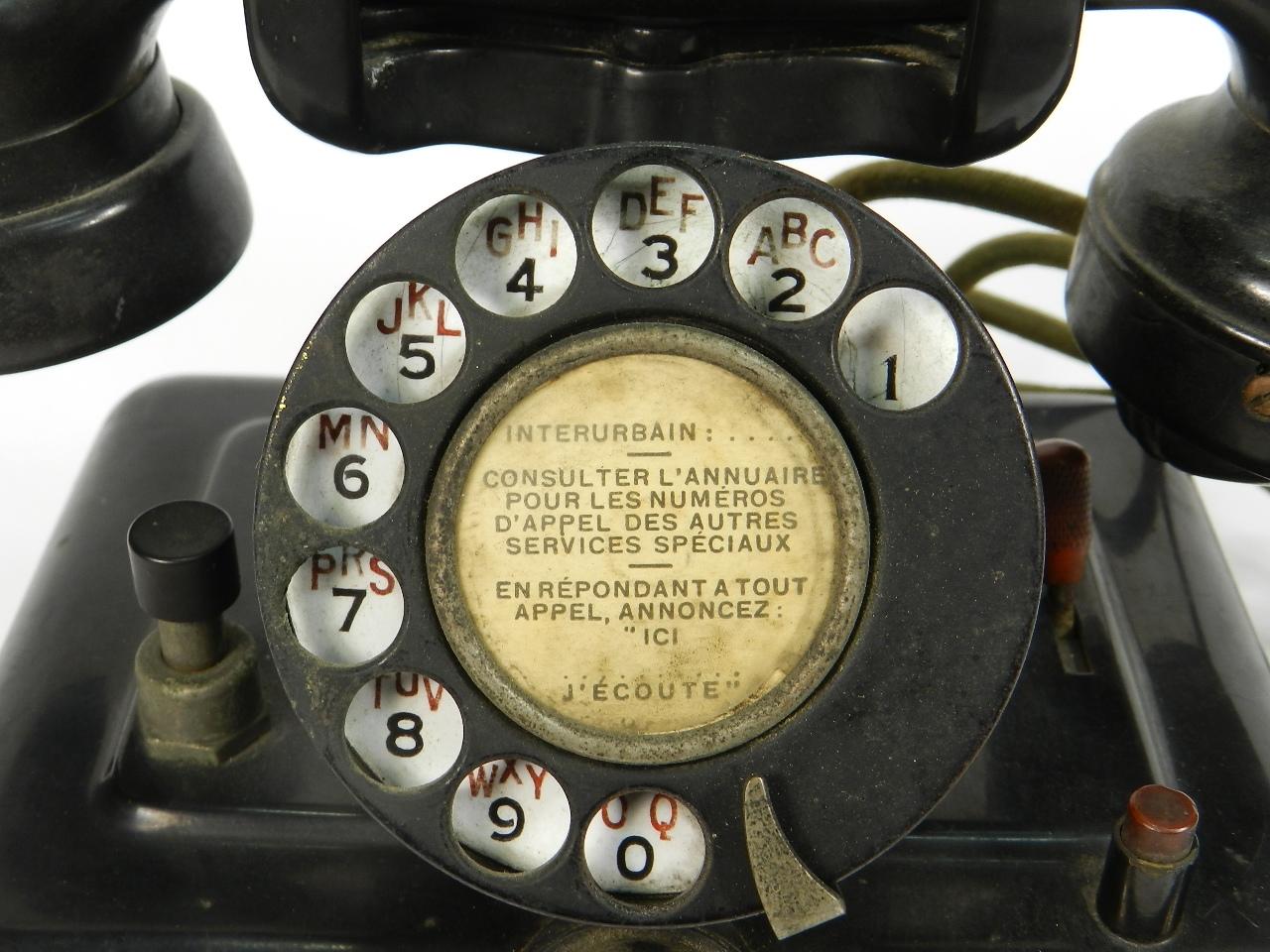 Imagen TELEFONO THOMSON HOUSTON AÑO 1930 41507