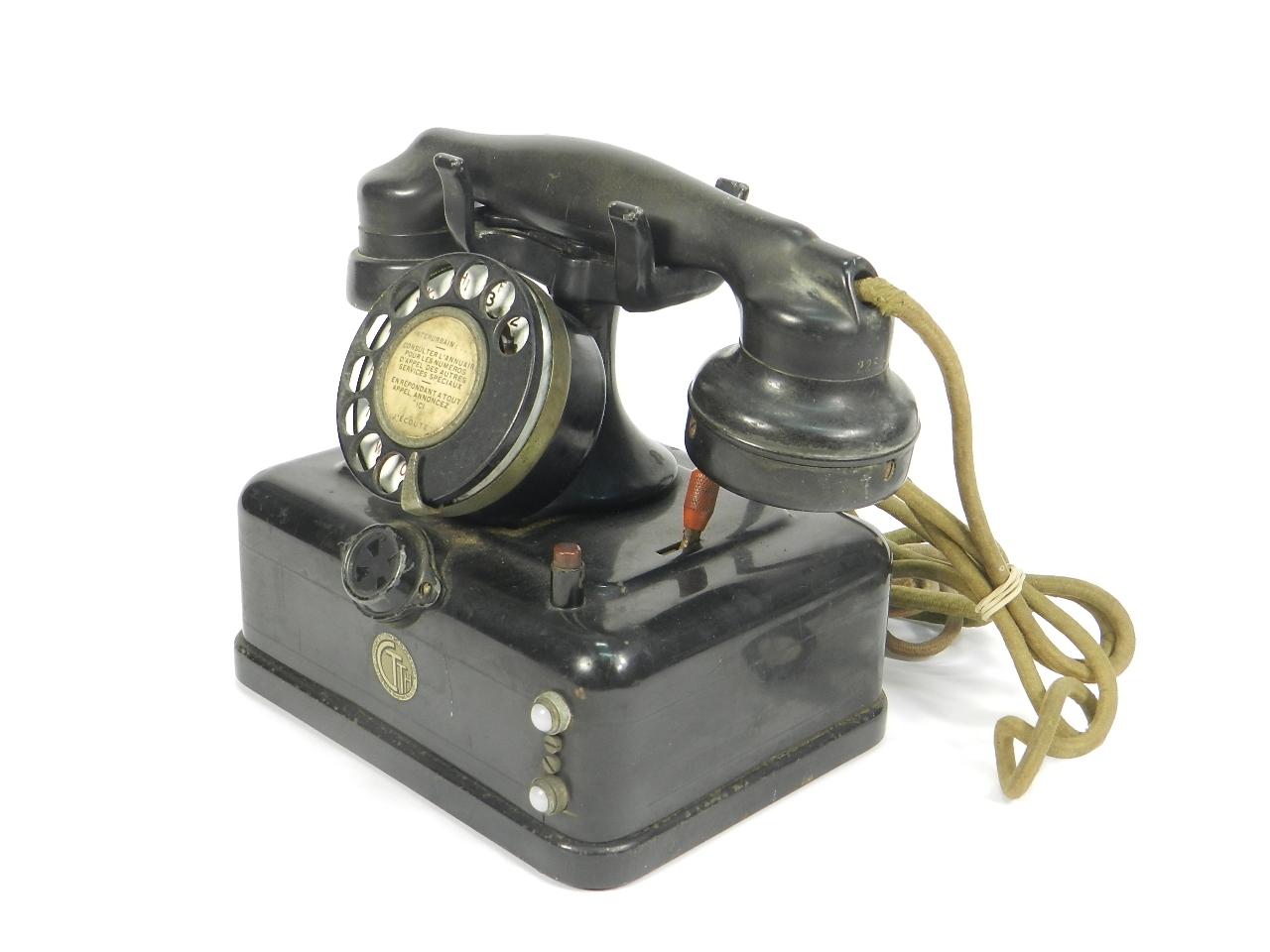 Imagen TELEFONO THOMSON HOUSTON AÑO 1930 41510