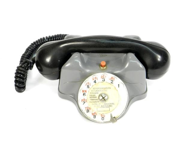 TELEFONO TÉLIC  AÑO 1950, ESTRASBURGO