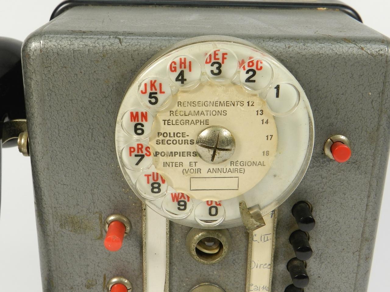 Imagen TELEFONO TÉLIC AÑO 1950, ESTRASBURGO 41681