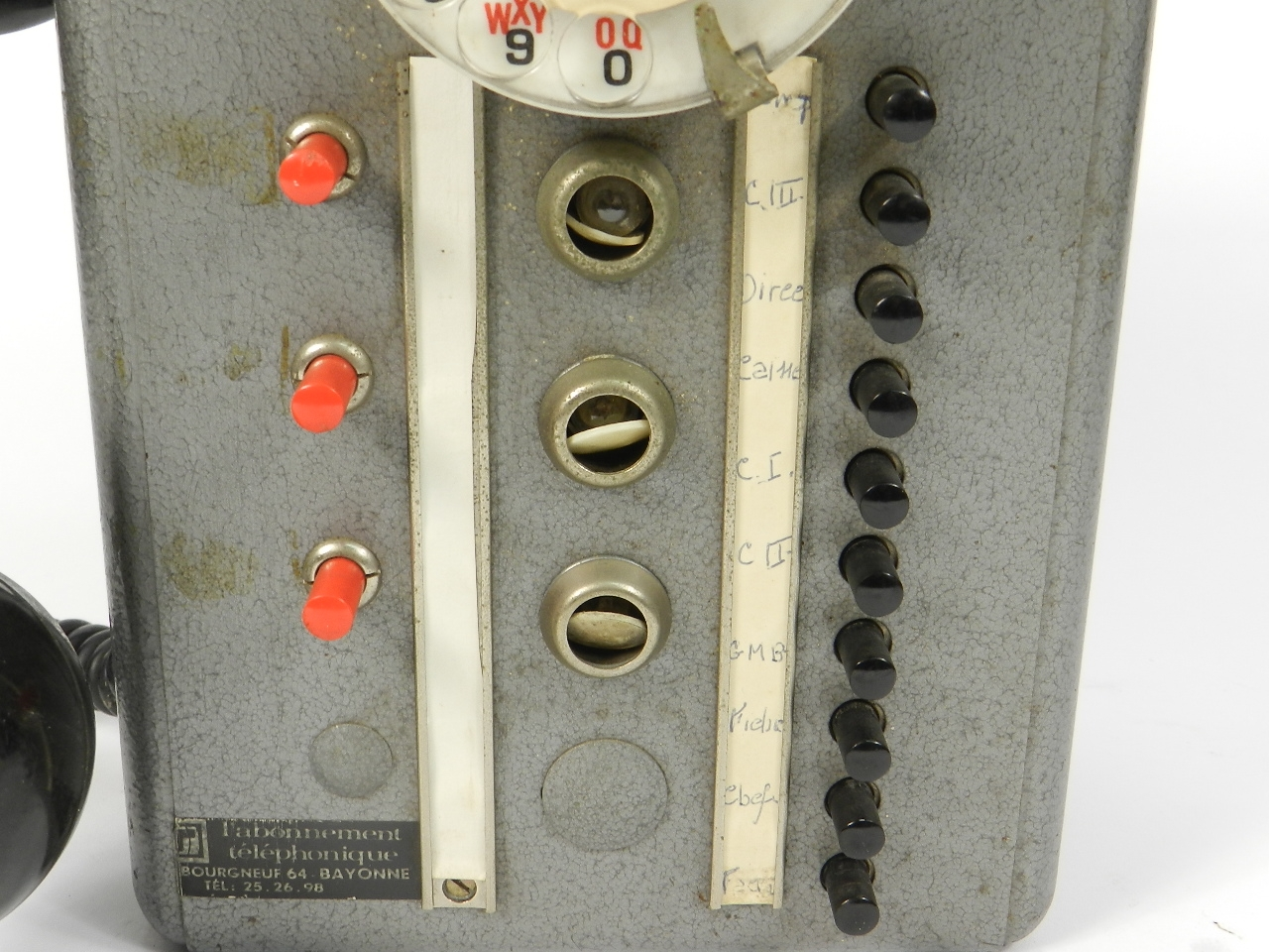 Imagen TELEFONO TÉLIC AÑO 1950, ESTRASBURGO 41682