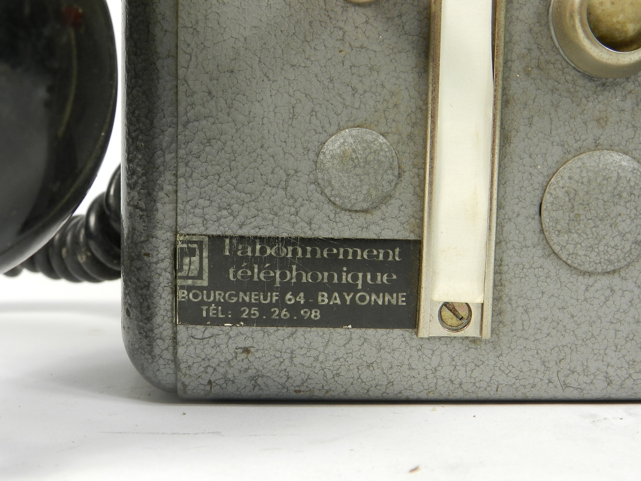 Imagen TELEFONO TÉLIC AÑO 1950, ESTRASBURGO 41683