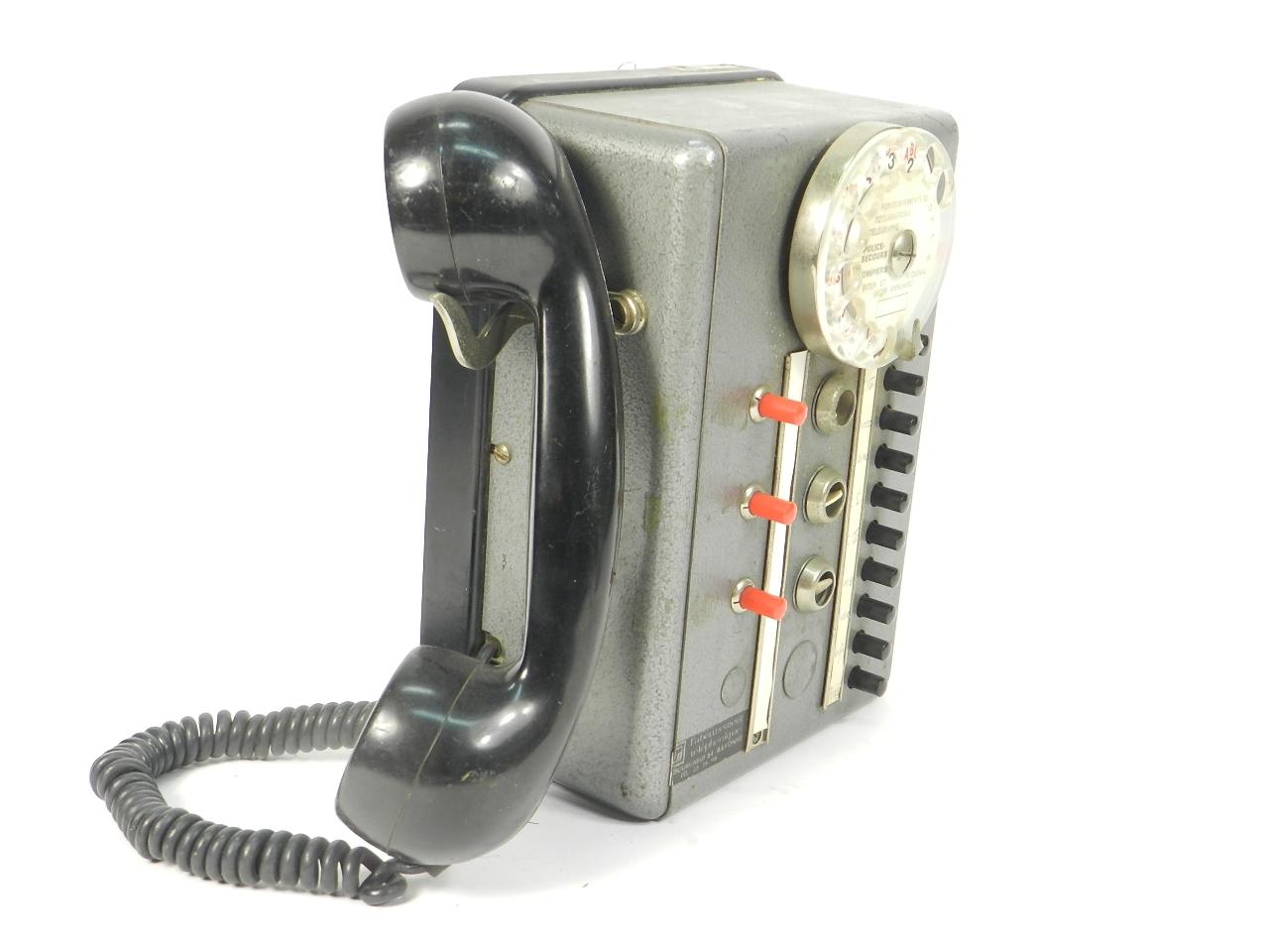 Imagen TELEFONO TÉLIC AÑO 1950, ESTRASBURGO 41684