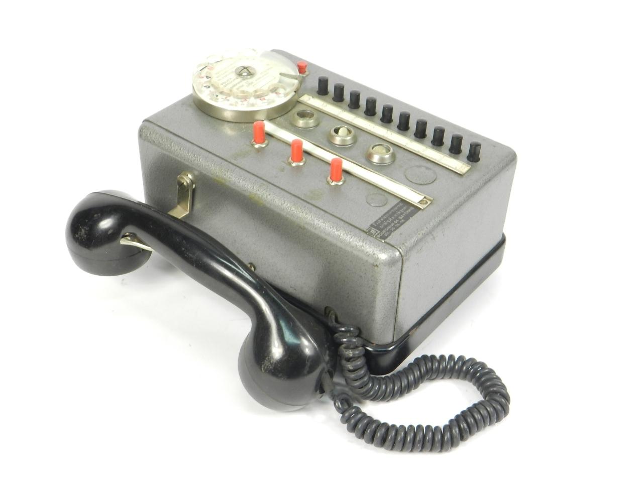 Imagen TELEFONO TÉLIC AÑO 1950, ESTRASBURGO 41685