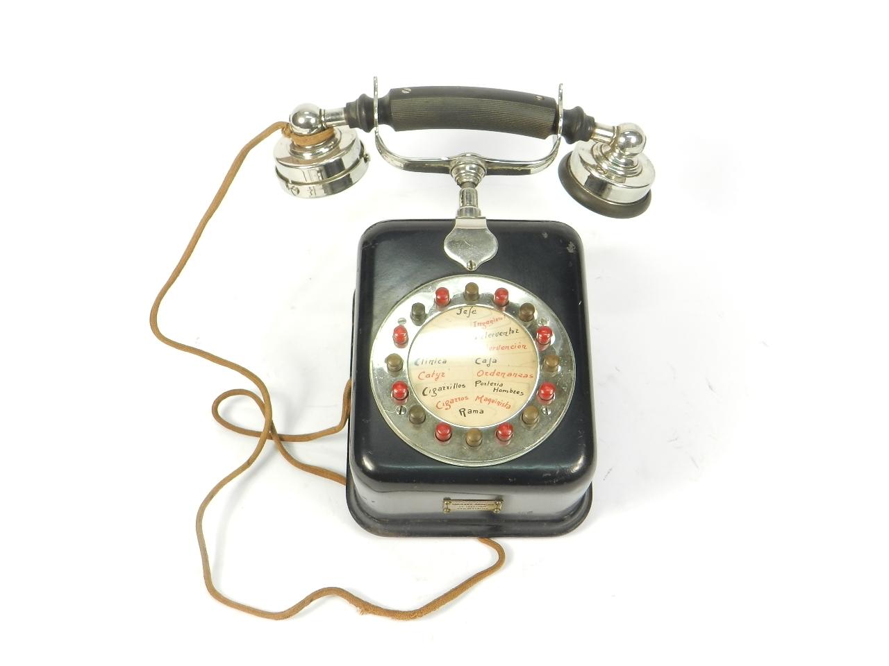 Imagen S.A. DE TELEFONÍA SAN SEBASTIAN AÑO 1940 41784