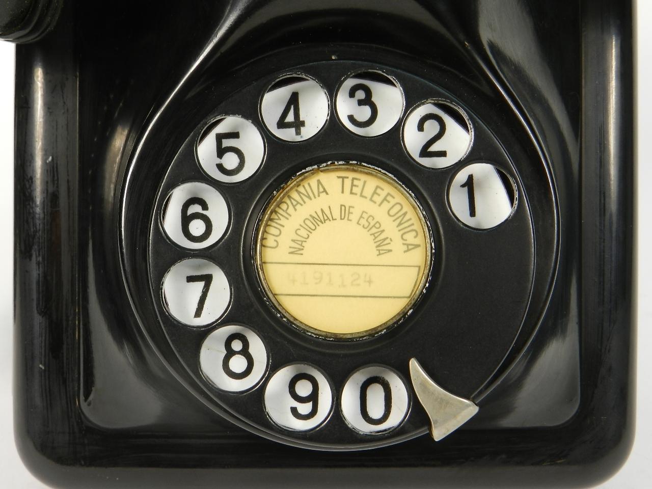 Imagen TELEFONO DE PARED 2713A AÑO 1940 41836