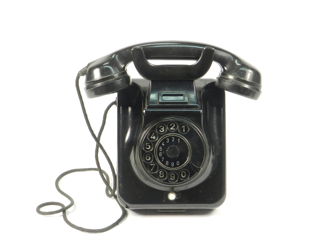 TELEFONO W49 POST REVERSIBLE AÑO 1959