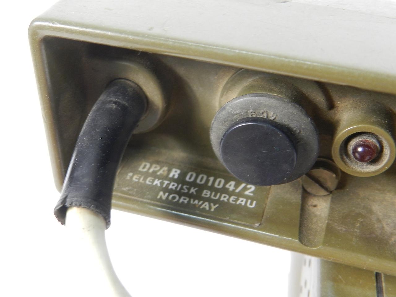 Imagen TELEFONO MILITAR DPAR, AÑO 1970 NORUEGA 41874