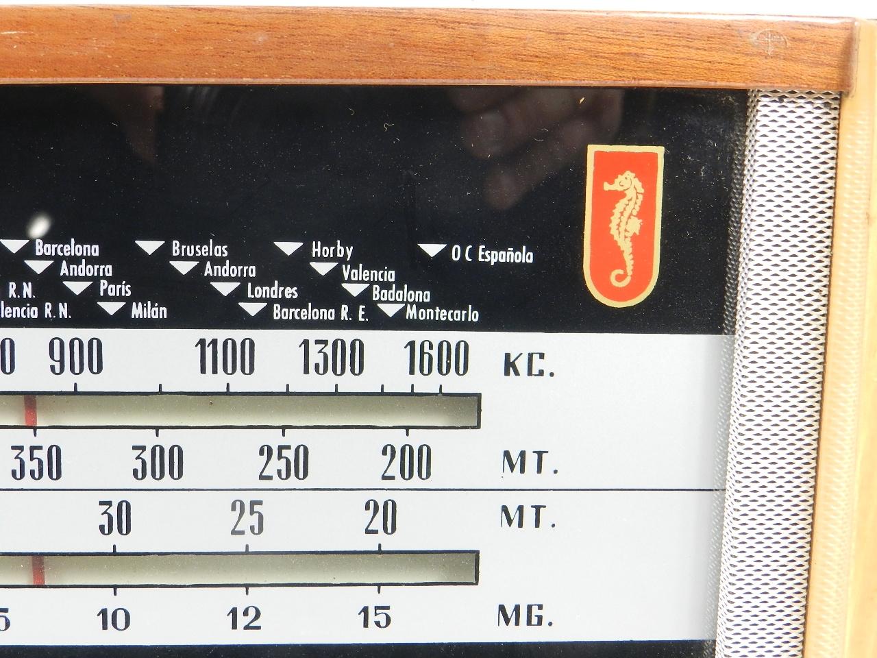 Imagen RADIO De WALD Mod.390  AÑO1960 41877
