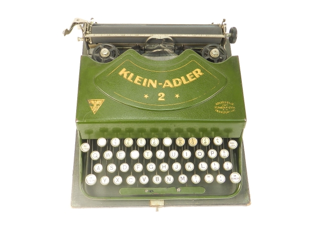 KLEIN ADLER Nº2 VERDE AÑO 1929