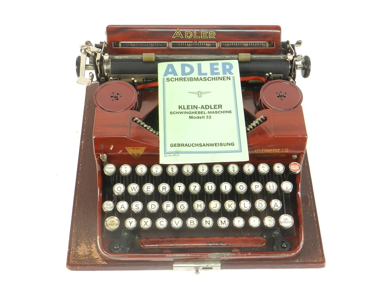 Imagen ADLER Nº32 COLOR ROJO AÑO 1932 42168