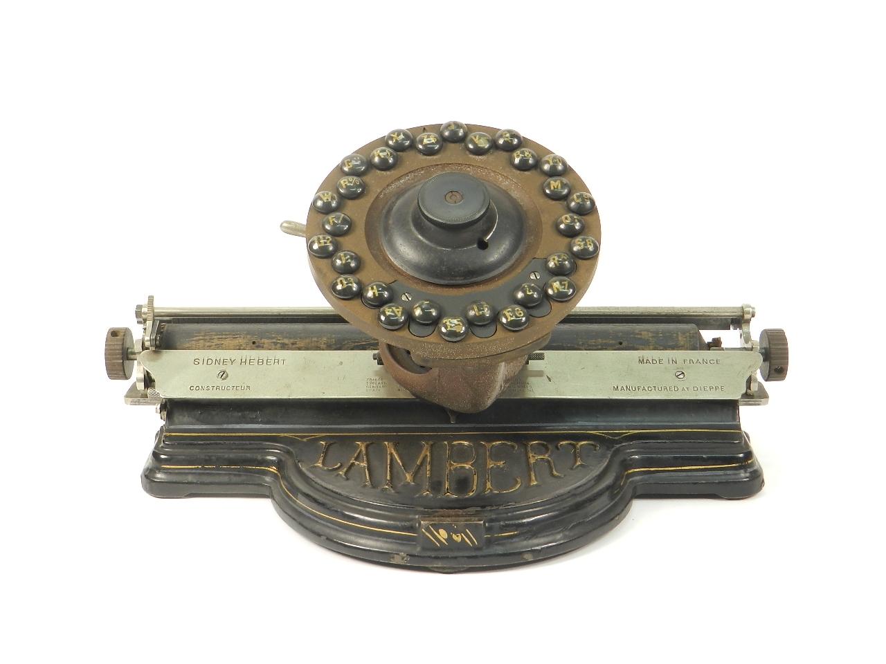 Imagen LAMBERT AÑO 1902 42674