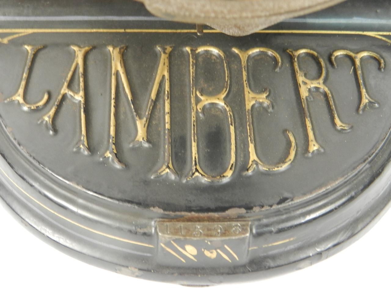 Imagen LAMBERT AÑO 1902 42676
