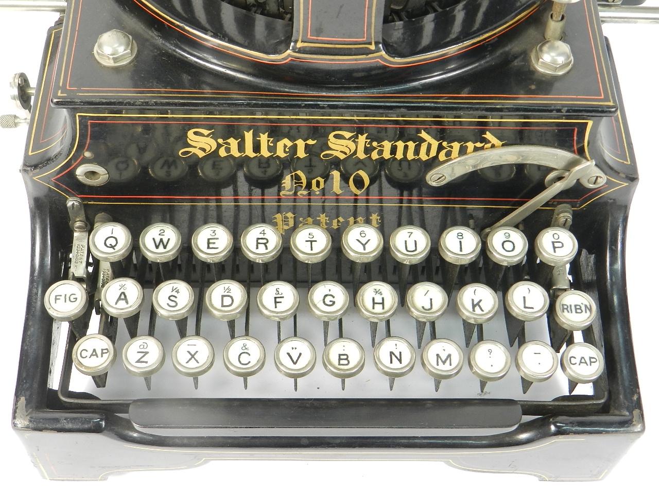 Imagen SALTER Nº10  AÑO 1908 42690