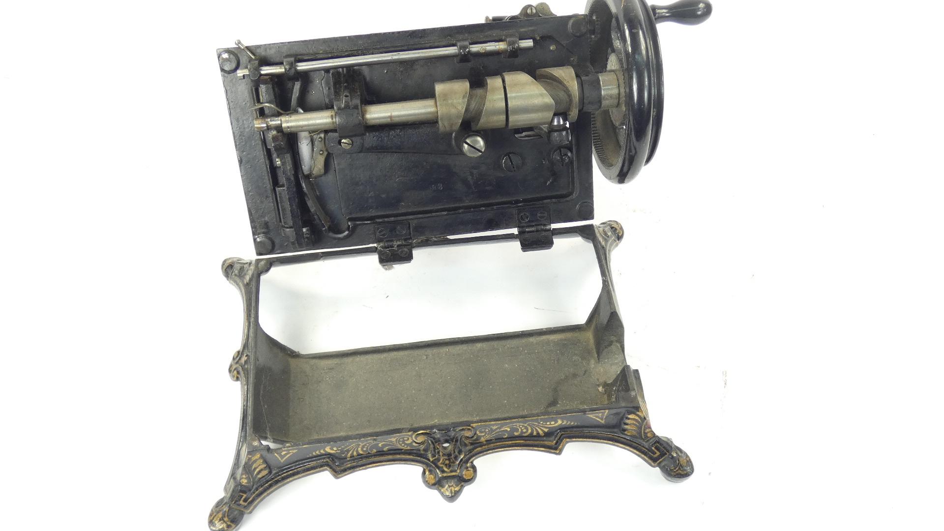 Imagen RARA TITTEL & NIES, ALEMANIA 1885 43356