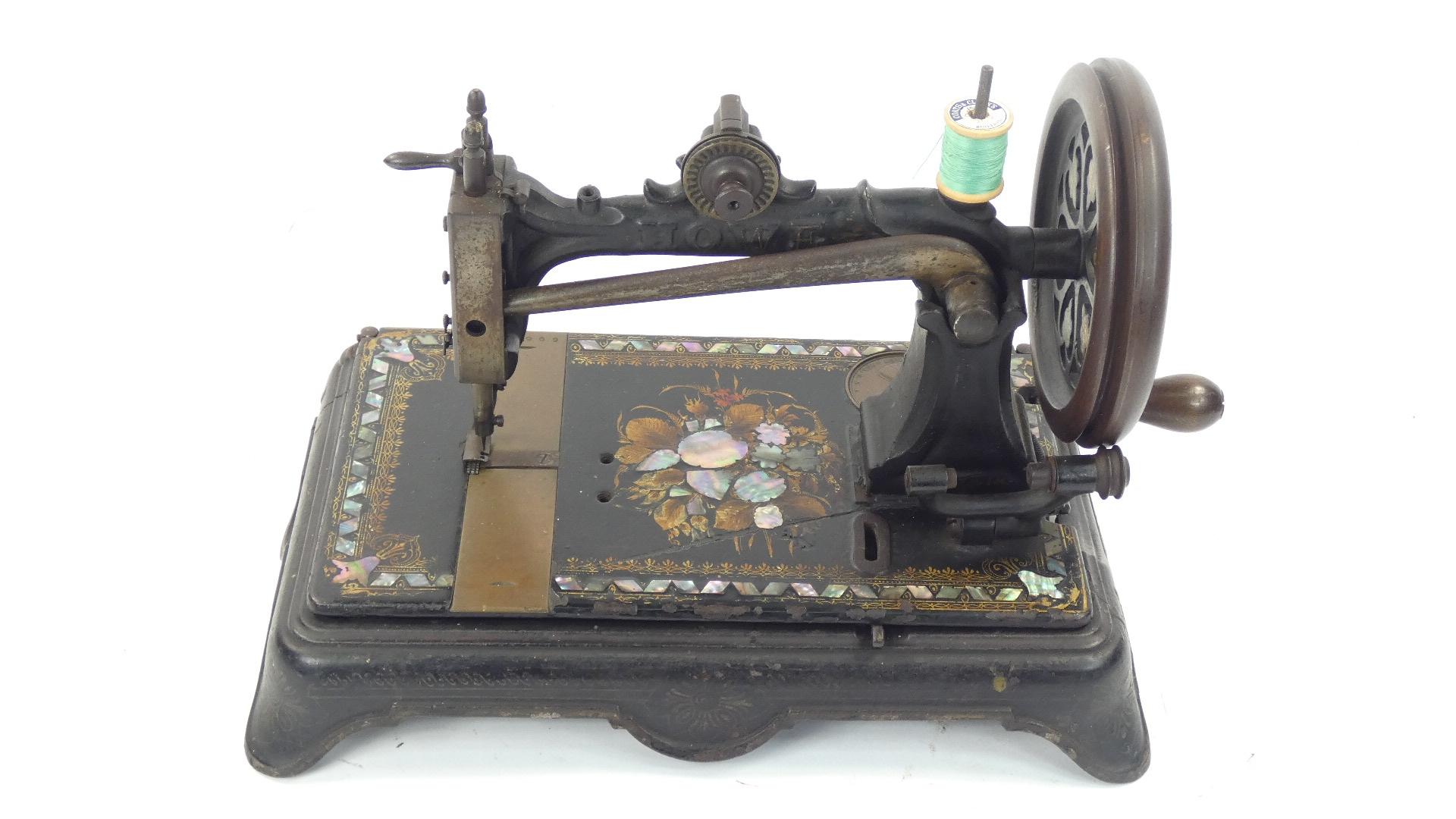 Imagen ELÍAS HOWE AÑO 1872, USA 43369