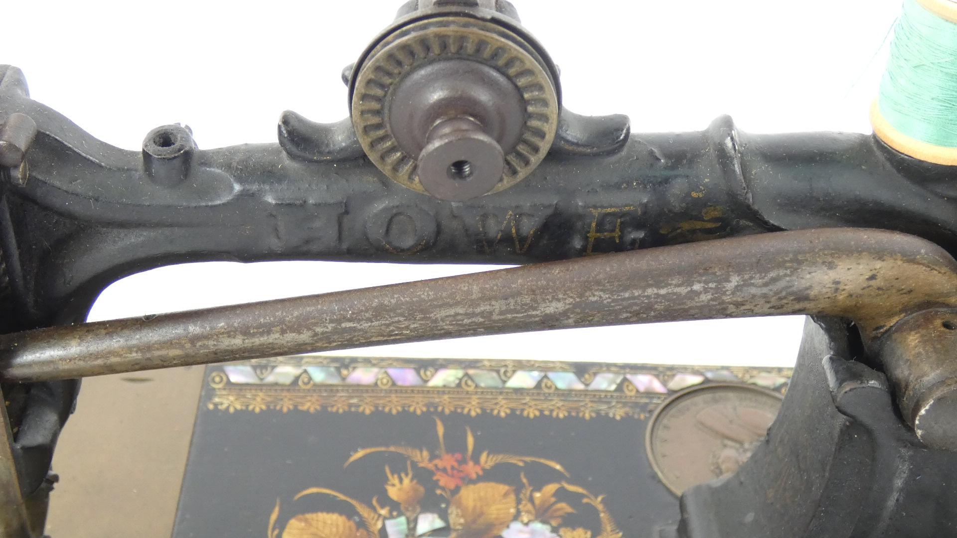 Imagen ELÍAS HOWE AÑO 1872, USA 43370