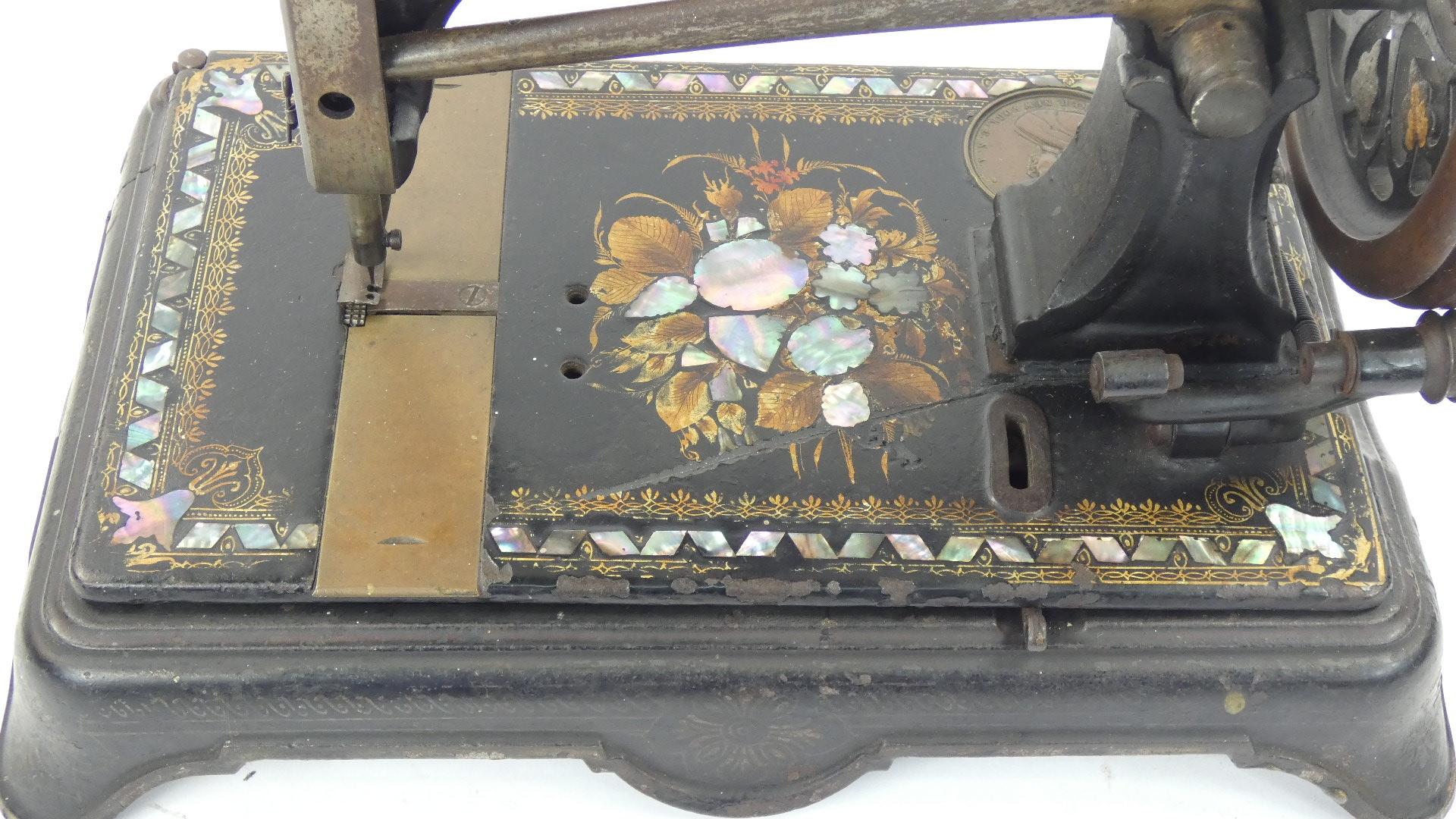 Imagen ELÍAS HOWE AÑO 1872, USA 43371
