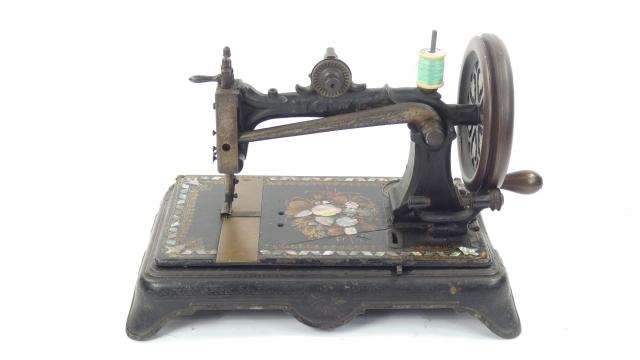 ELÍAS HOWE AÑO 1872, USA