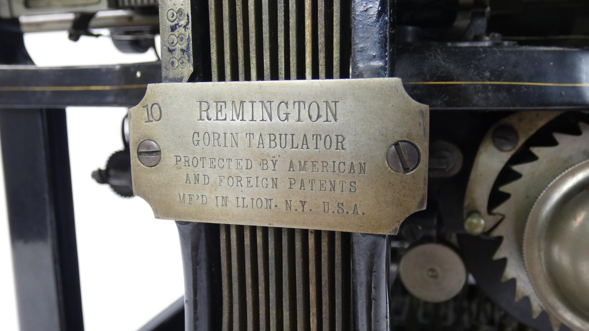 Imagen REMINGTON Nº7 + TABULADOR  AÑO 1898 43429