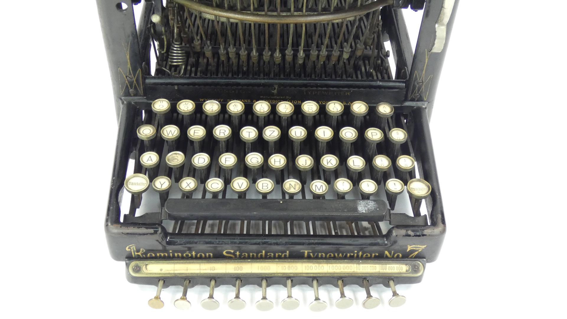 Imagen REMINGTON Nº7 + TABULADOR  AÑO 1898 43421