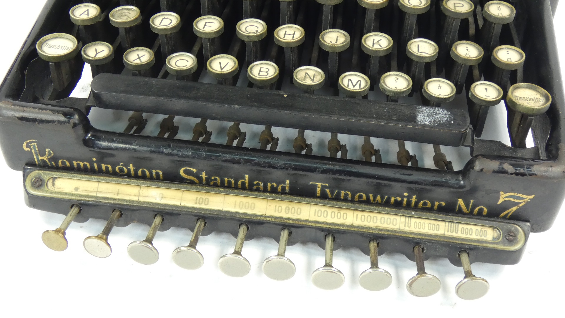 Imagen REMINGTON Nº7 + TABULADOR  AÑO 1898 43422