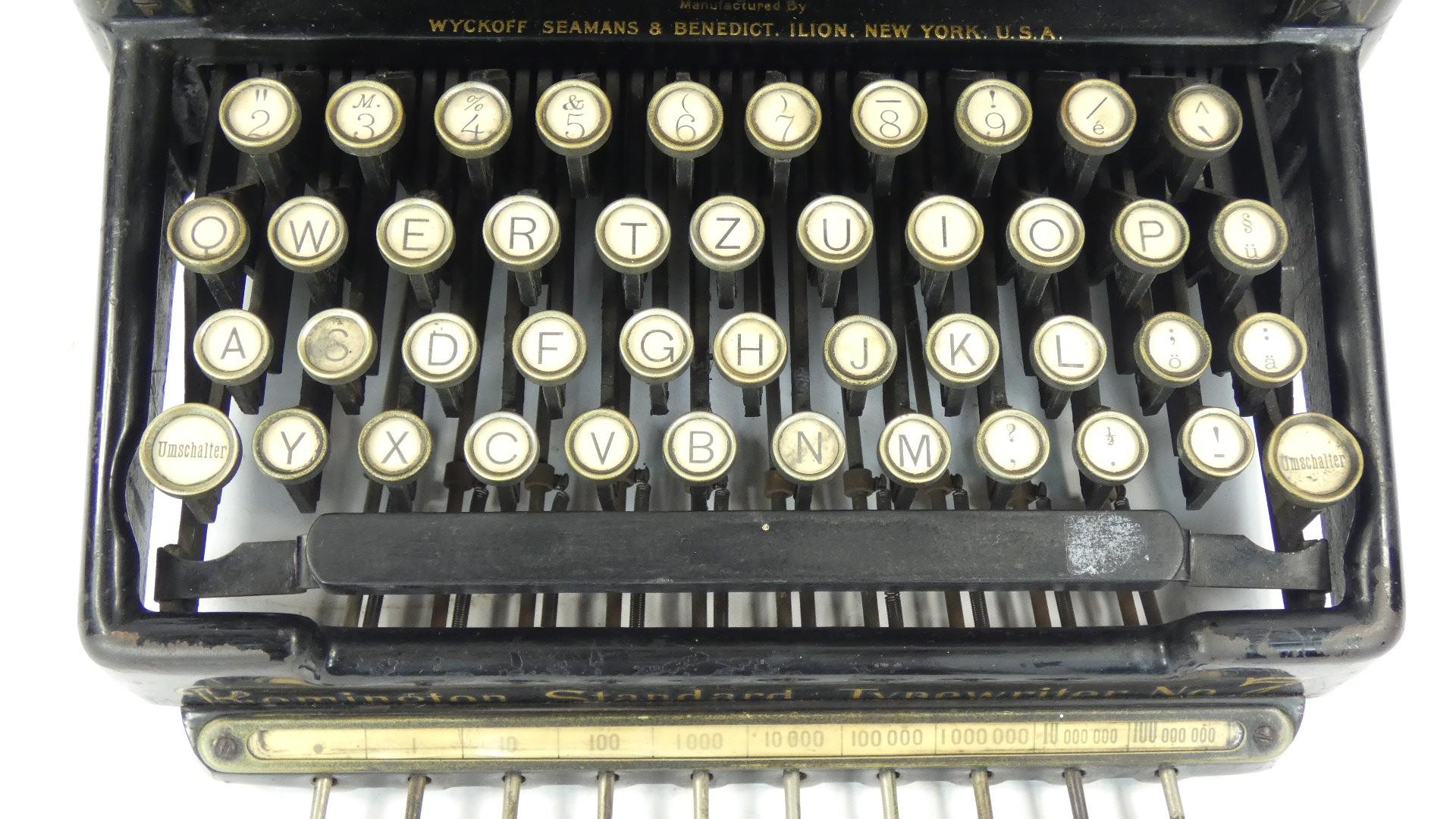Imagen REMINGTON Nº7 + TABULADOR  AÑO 1898 43424
