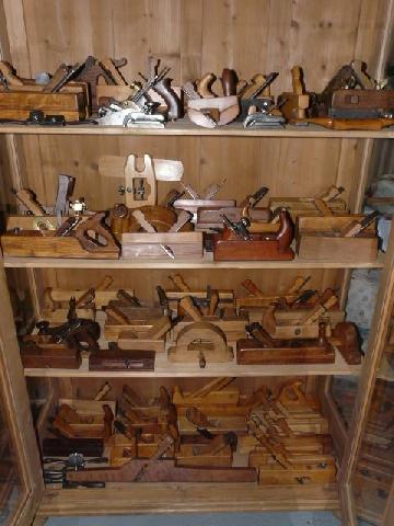 Antiguedad coleccion cepillos - Decoracion con antiguedades ...