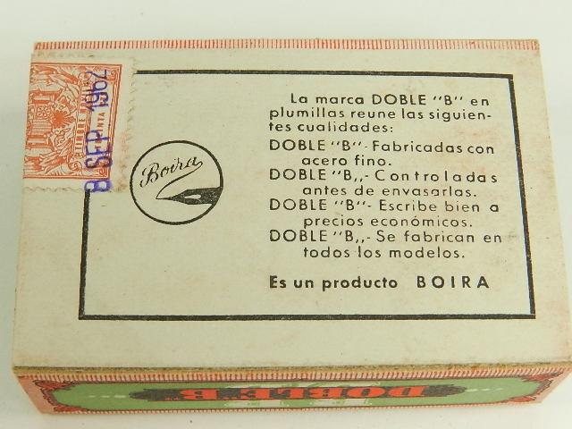 Imagen 100 PLUMAS DOBLE B 6475
