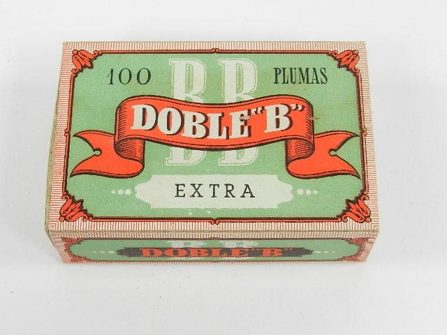 100 PLUMAS DOBLE B