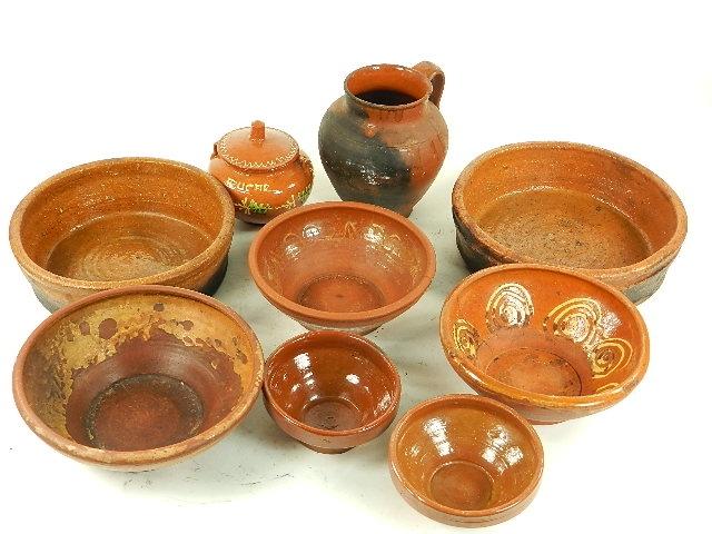 Lote de barro antiguedades antiguedades rusticas - Objetos rusticos para decoracion ...