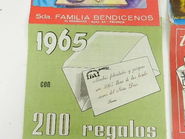 Imagen CALENDARIOS 1965 12520
