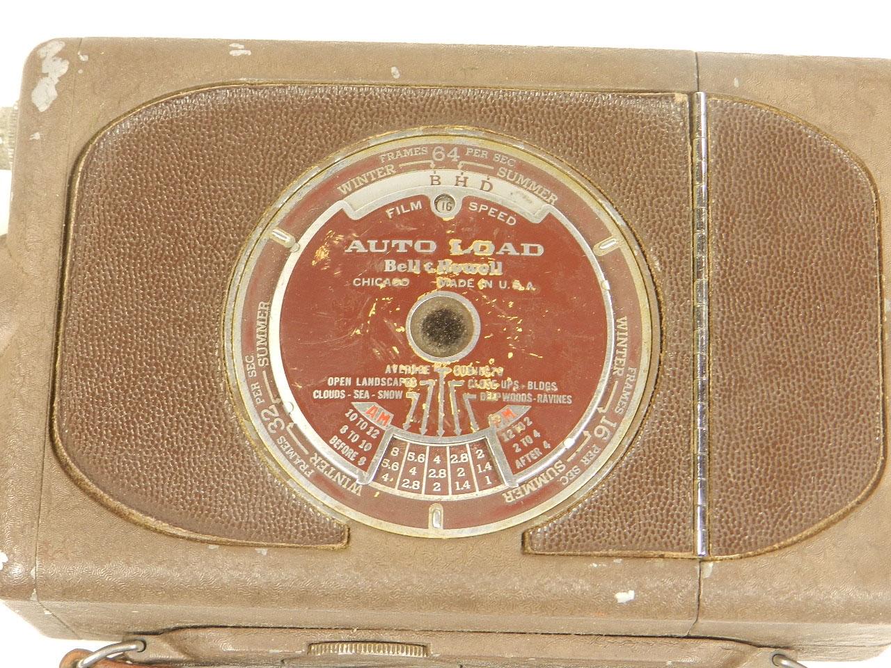 Imagen TOMAVISTAS BELL HOWELL 16mm 25091