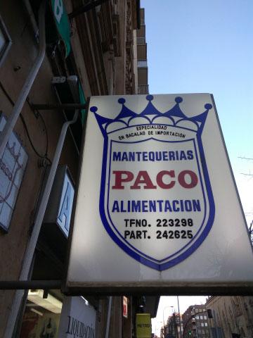 Imagen MANTEQUERIAS PACO SALAMANCA 22637