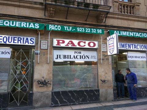Imagen MANTEQUERIAS PACO SALAMANCA 22638