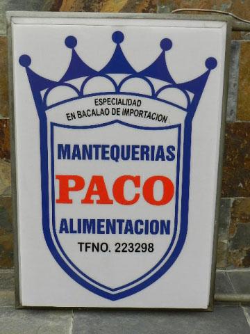 Imagen MANTEQUERIAS PACO SALAMANCA 22644