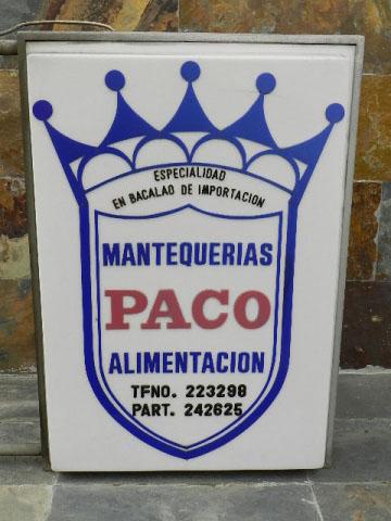 Imagen MANTEQUERIAS PACO SALAMANCA 22645