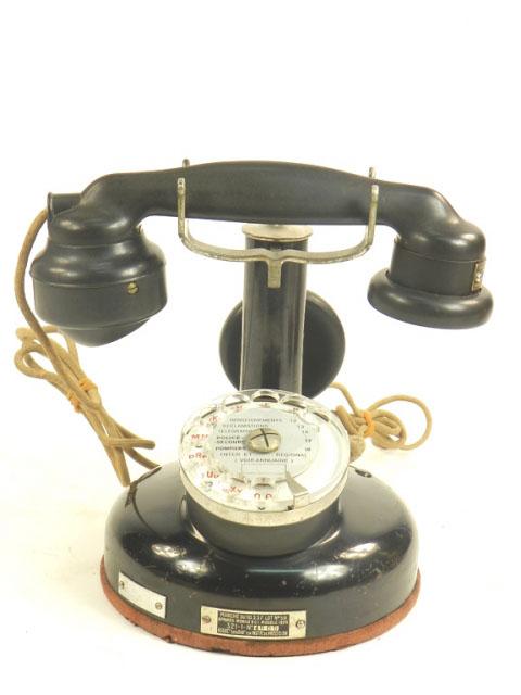TELÉFONO DE SOBREMESA AÑO 1937