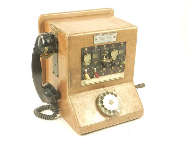 CENTRALITA DE TELÉFONOS AÑO 1950