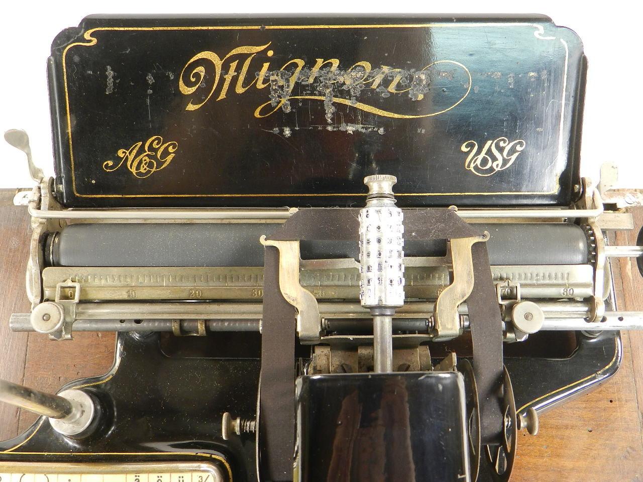 Imagen MÁQUINA DE ESCRIBIR MIGNON Nº2B AÑO 1913 23294