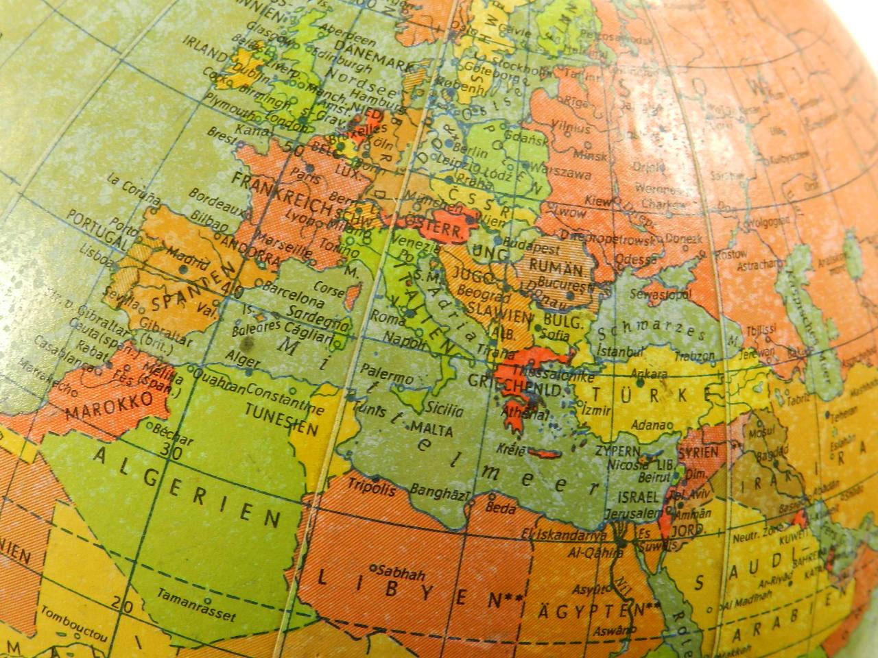 Imagen GLOBO TERRÁQUEO AÑO 1975 23343