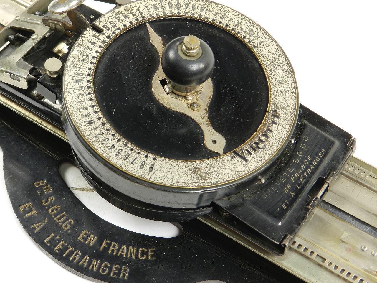 Imagen MÁQUINA DE ESCRIBIR VIROTYP AÑO 1914 23686