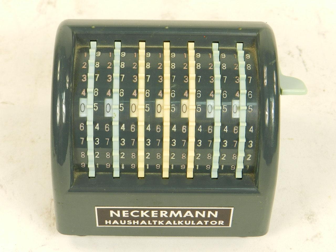 Imagen SUMADORA NECKERMANN AÑO 1960 23801