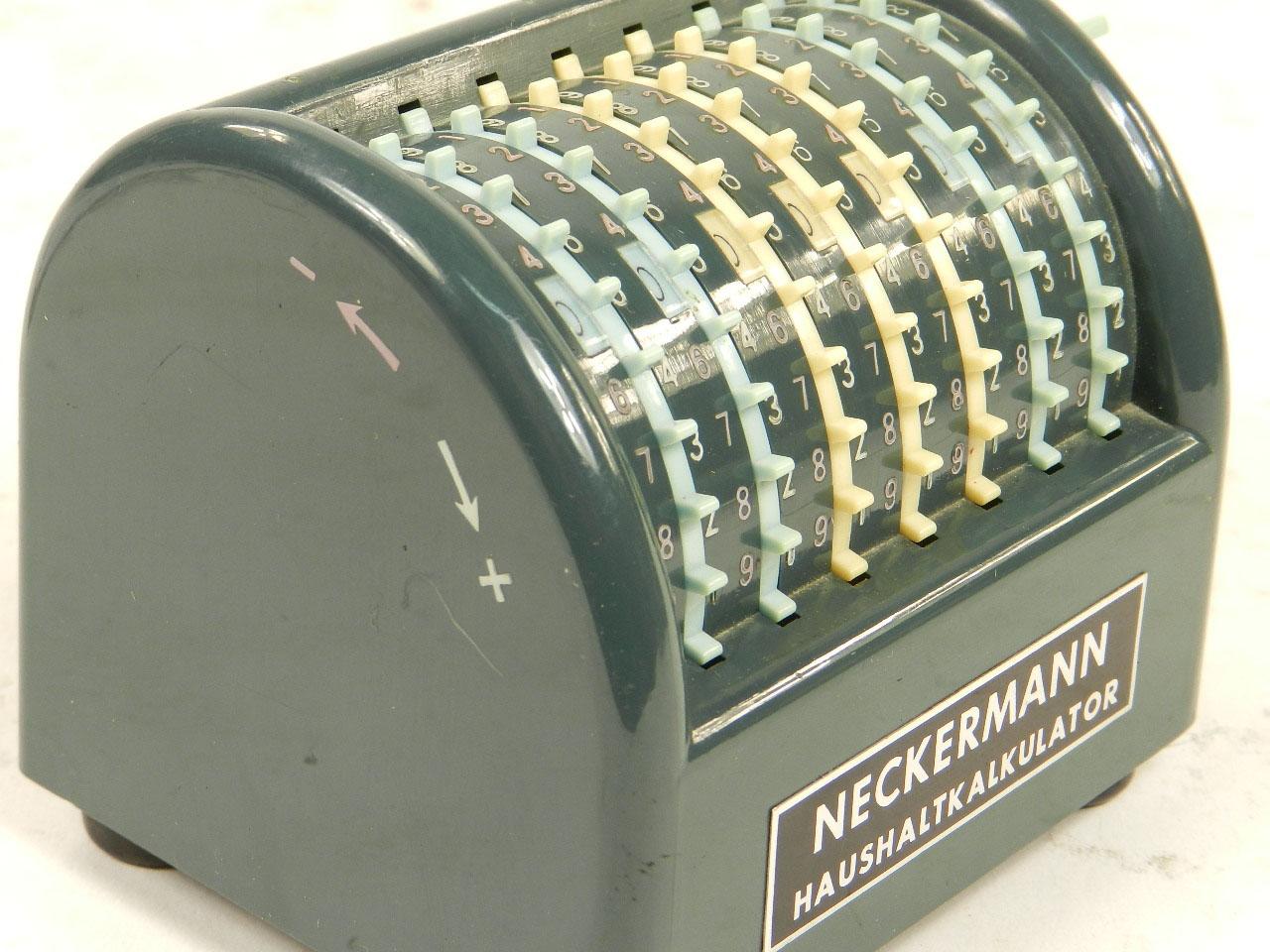 Imagen SUMADORA NECKERMANN AÑO 1960 23802