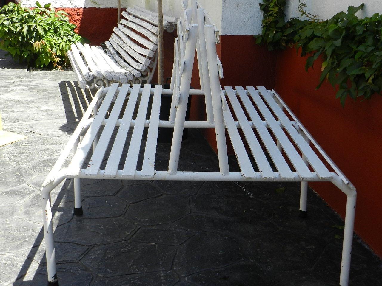 Imagen BANCO DOBLE REALIZADO EN HIERRO 23932