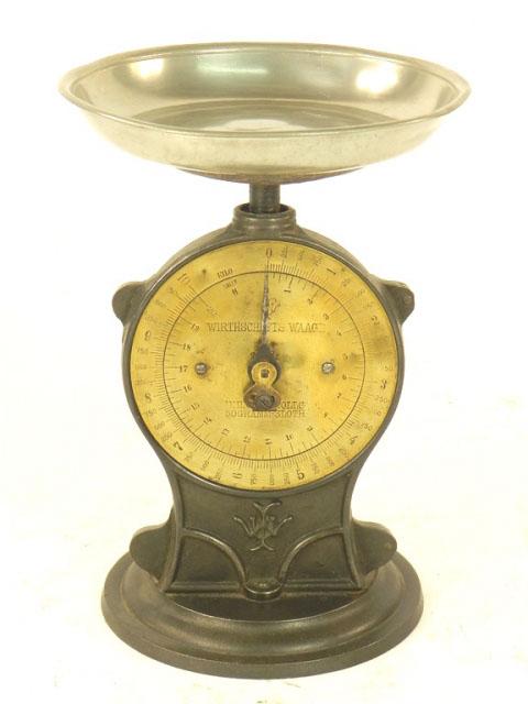 BÁSCULA SALTER AÑO 1900