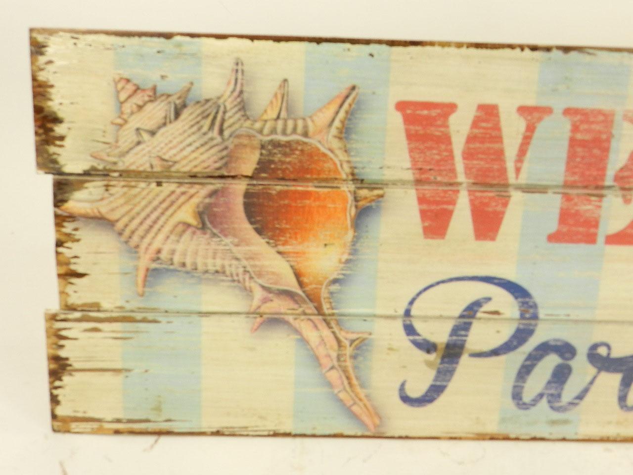 Imagen TABLA DECORATIVA WELCOME TO PARADISE 24313