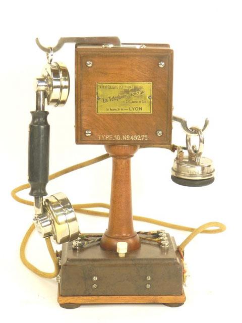 ESPECTACULAR TELÉFONO GRAMMONT AÑO 1915