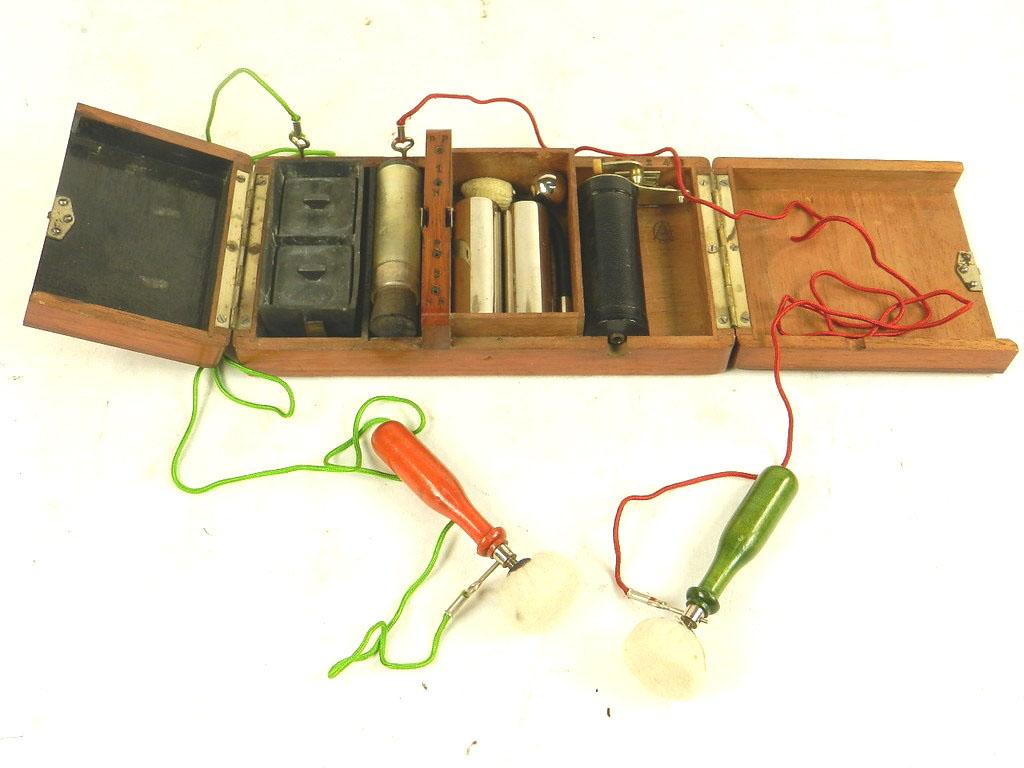 Imagen APARATO DE ELECTROSHOCK AÑO 1900 24402