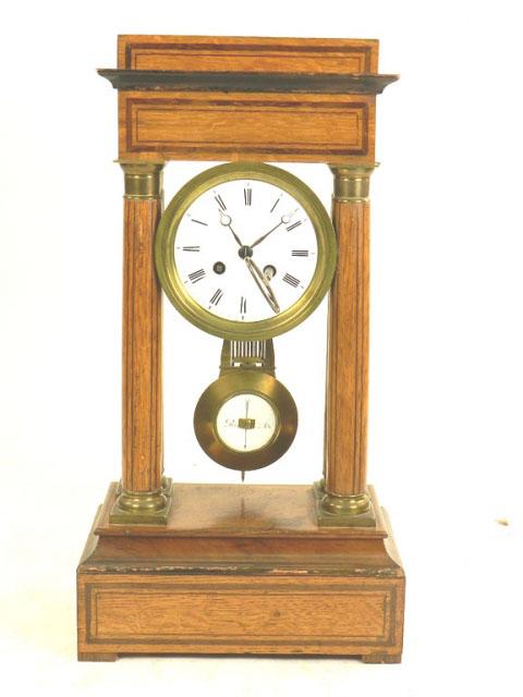 RELOJ DE PÓRTICO NAPOLEÓN III AÑO 1870